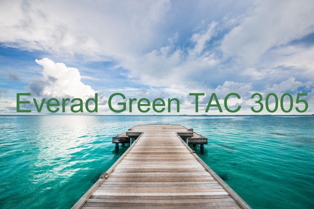 Everad® Green TAC 3005   La « solution sans chlore » pour découvir les nouveaux horizons du futur !