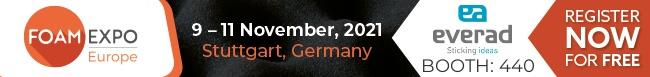 Everad présent au Salon Foam Expo-Adhesives & Bonding Expo 2021 à Stuttgart