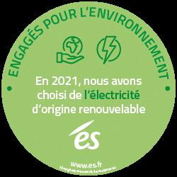 Everad : 100% de notre électricité est d'origine renouvelable